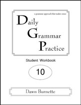Daily Grammar Practice Grade 10 Student Workbook (2nd  Edition)