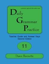 Daily Grammar Practice Grade 11 Teacher Guide (2nd Edition)