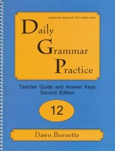Daily Grammar Practice Grade 12 Teacher Guide (2nd Edition)