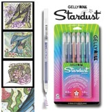 Gelly Roll Stardust Meteor Pen Set, Pack of 6