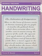Cursive Writing-Book G, 2nd Edition Grade 6