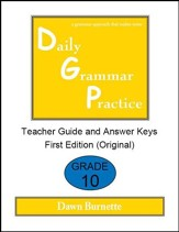 Daily Grammar Practice Grade 10 Teacher Guide (1st Edition)