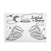 Angel Doodle Pillowcase