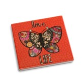 Love Life Coaster and Greeting Card