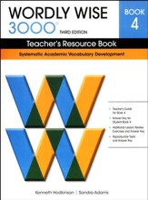 Wordly Wise 3000 Teacher's Resource Book 4, 3rd Edition  (Homeschool Edition)