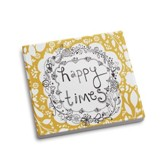 Happy Times Coaster and Greeting Card