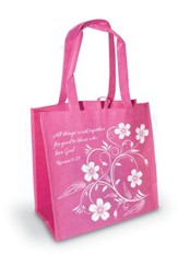 All Things Work Together - Romans 8:28 Eco Tote