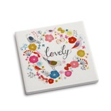 Lovely Coaster and Greeting Card