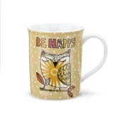 Be Happy Mug and Greeting Card