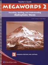 Megawords 2 Teacher's Guide, 2nd Edition