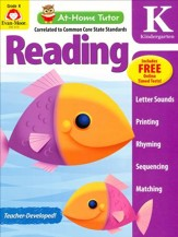 At-Home Tutor: Reading, Grade K