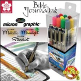 Micron/GellyRoll Bible Journaling Set, 17 items