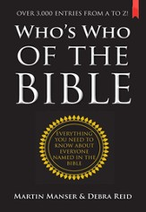Who's Who of the Bible: Over 3000 entries from A to Z! - eBook