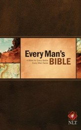 NLT Every Man's Bible, Hardcover  - Slightly Imperfect