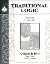 Traditional Logic Quizzes and Test Book 2