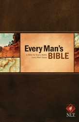 The Every Man's Bible NLT, Softcover - Slightly Imperfect