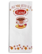 Friend Tea Towel and Greeting Card