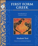 First Form Greek Student Text