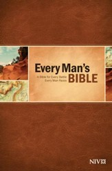 NIV Every Man's Bible, Softcover - Slightly Imperfect