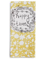 Happy Times Tea Towel and Greeting Card