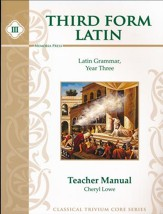 Third Form Latin, Teacher Manual