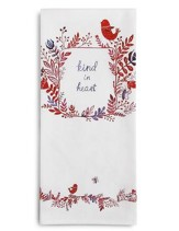 Kind in Heart Tea Towel and Greeting Card