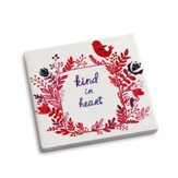 Kind in Heart Coaster and Greeting Card
