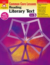 Reading Literary Text: Common Core Mastery, Grade 5