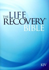KJV Life Recovery Bible - Slightly Imperfect