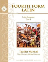 Fourth Form Latin Teacher Book 1