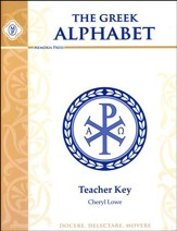 Greek Alphabet Book- Teacher Key