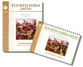 Fourth Form Latin Teacher's Manual  with Workbook and Test  Key