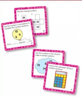 Math Challenge, Age 6 (Set of 36 Cards)
