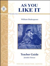 As You Like It Teacher Guide, Grade  8