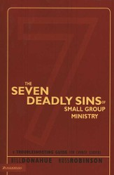 The Seven Deadly Sins of Small Group Ministry - eBook