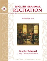 English Grammar Recitation Workbook Two Teacher Guide