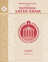 Memoria Press Guide to the National  Latin Exam: Level 1