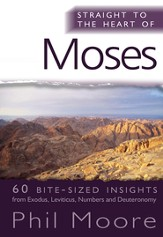 Straight to the Heart of Moses: 60 bite-sized insights - eBook