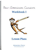 New American Cursive 1 Lesson Plans