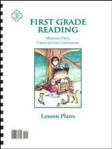 1st Grade Reading Lesson Plans