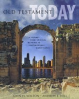 Old Testament Today: A Journey from Original Meaning to Contemporary Significance (slightly imperfect)