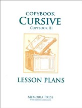Copybook Cursive: Scripture & Poems Lesson Plans
