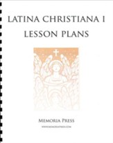 Latina Christiana 1: 1 Year Pace  Lesson Plans