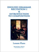 English Grammar Recitation 1 & Introduction to  Composition Lesson Plans
