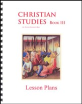 Christian Studies 3 Lesson Plans