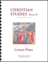 Christian Studies 4 Lesson Plans
