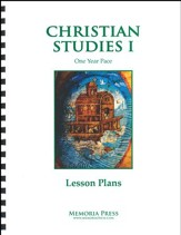 Christian Studies 1: 1 Year Pace Lesson Plans