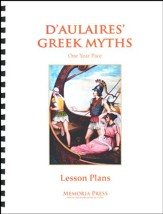 D'Aulaires' Greek Myths: 1 Year Pace Lesson Plans