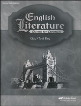Abeka English Literature Quizzes and Tests Key