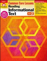Reading Informational Text: Lessons for Common Core Mastery, Grade 2